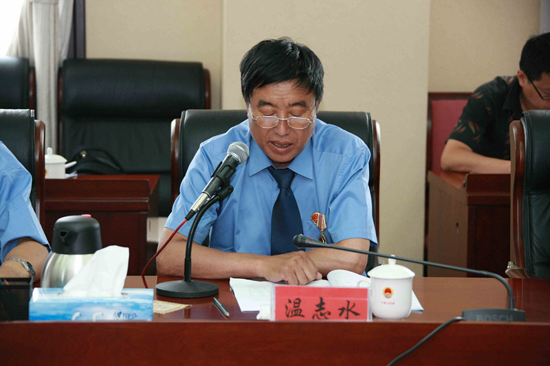 赤峰市翁牛特旗人民检察院民行科长温志水发言-头条新闻 内蒙古自治
